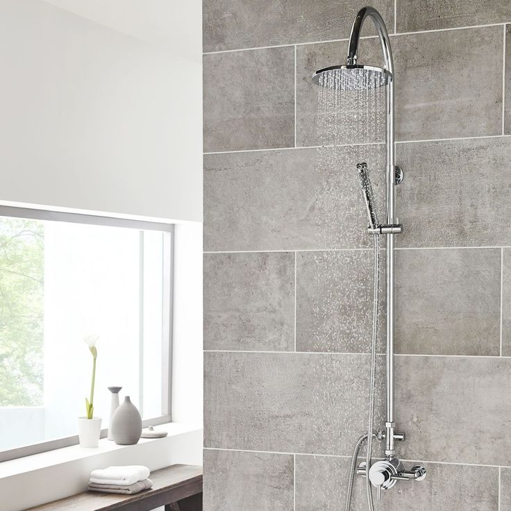 39 best Shower & Spa images on Pinterest | Rain shower heads ...