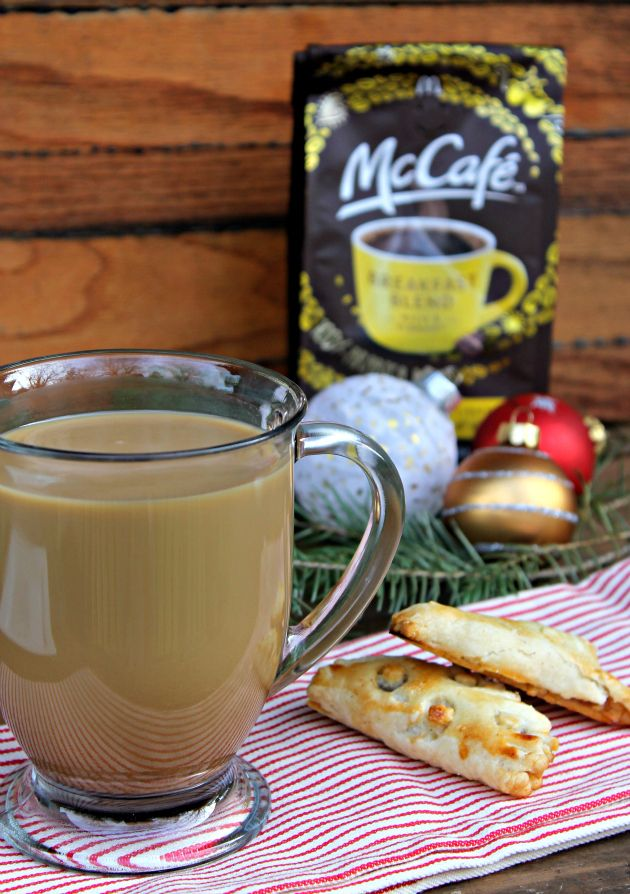 Homemade Mini Apple Turnovers & #McCafeAtHome = Holiday Perfection