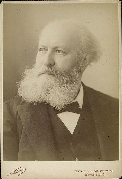 Composer Charles Gounod, late in life