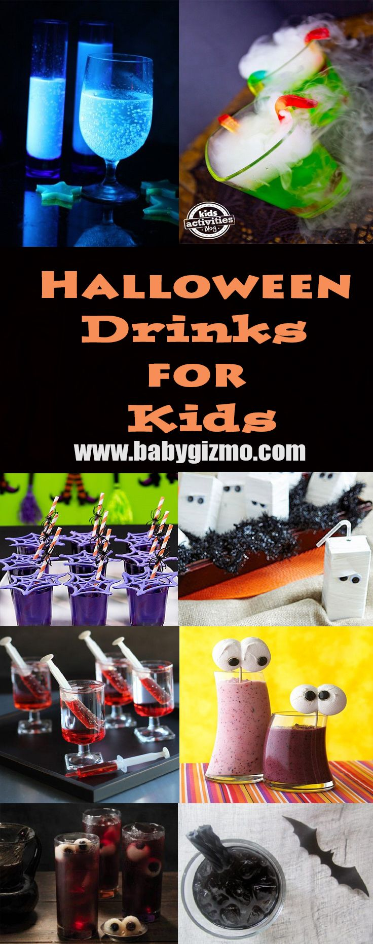 are you planning a halloween party for your kids and their friends its pretty easy to find great ideas for halloween treats and snacks - Great Halloween Drinks