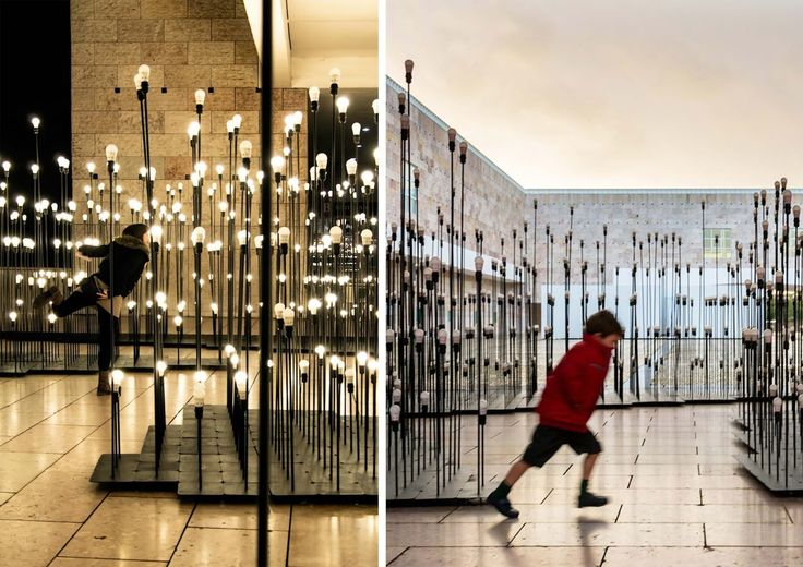 Installazione luminosa per Ikea by LIKEarchitects | ARC ART by Daniele Drigo