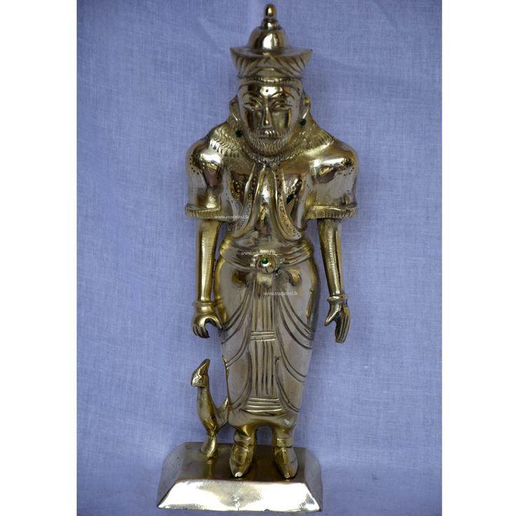 Brass Statue 15 -Dadimunda God (Aluthnuwara God)