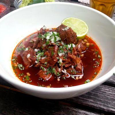 Birria De Borrego (Mexican Lamb Stew) @keyingredient #breakfast #tomatoes…