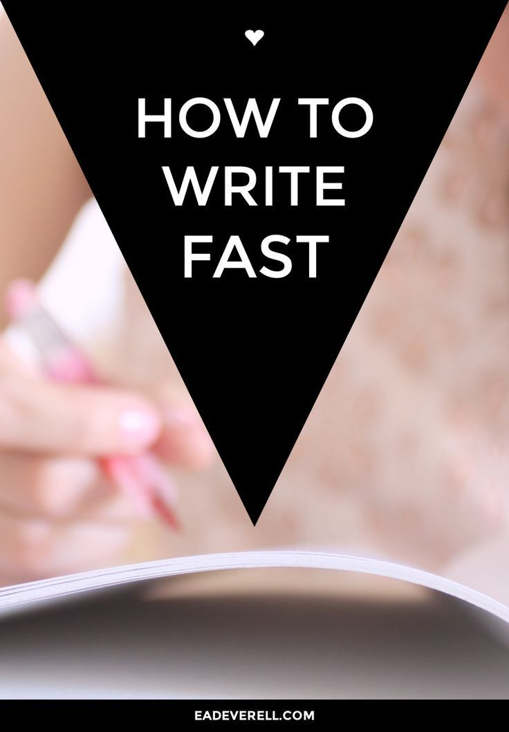 how to write an english essay quickly
