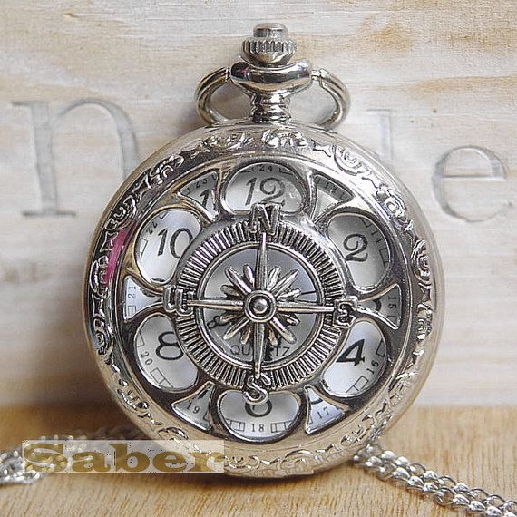 NewSteampunk Pocket watch necklace
