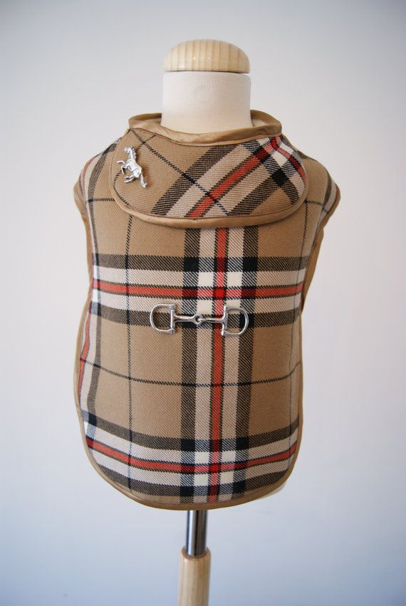 Dog Coat pet clothing from our Horse and Hound by TheBarkerCompany, £125.00