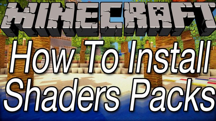 For the GLSL Shaders Mod you also have to install one or more Shader Packs. Here we will show you how to download and install your favorite shader packs.