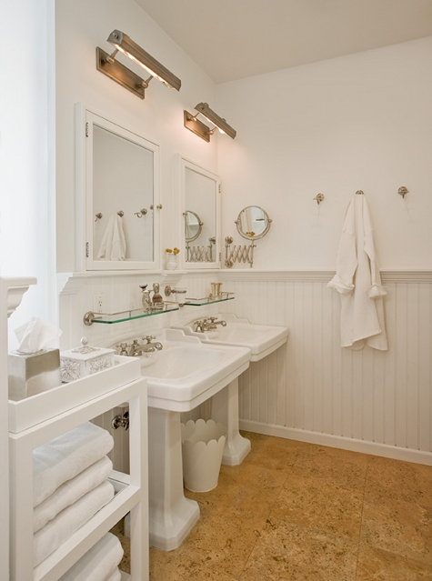 57 best Pedestal sink bathrooms images on Pinterest | Bathroom ...