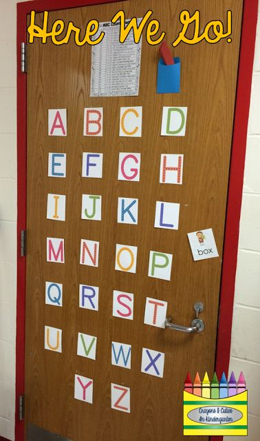 Crayons & Cuties In Kindergarten: ABC Countdown to the End of the Year!