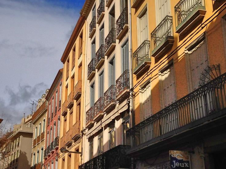 Rue de l'Argenterie in Perpignan
