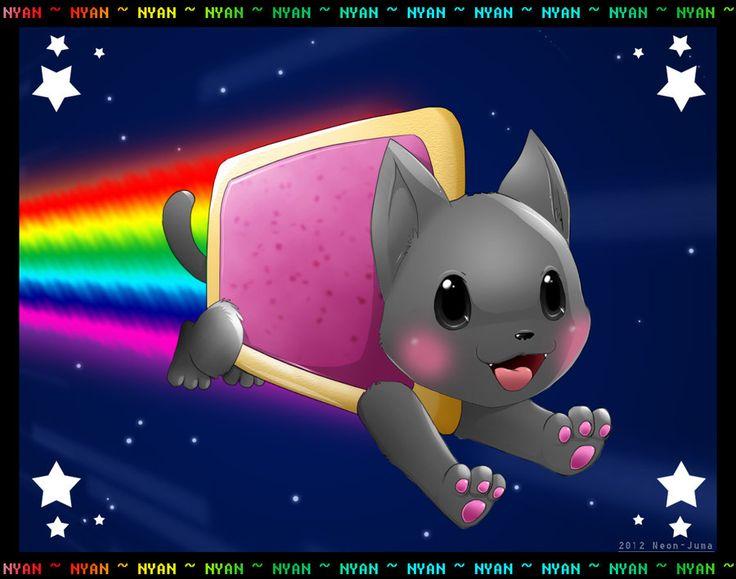 ... com on @deviantART | Nyan Cat | Pinterest | Art, Nyan cat and Cats