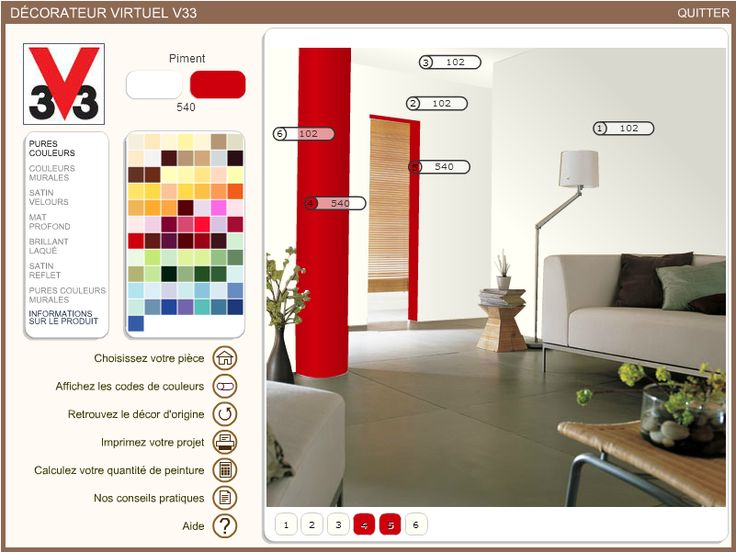 Les 20 meilleures id es de la cat gorie simulateur deco sur pinterest coule - Simulation de peinture ...