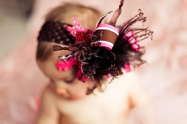 【楽天市場】【こどもヘアバンド】チョコブラウンファーの派手カワヘアバンド★誕生日や入園入学のスタジオ撮影や発表会に!!お姉ちゃんになったらヘアクリップピンでアレンジ♪:ベビー&ウェディング ミシア