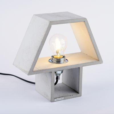 Klasyczna+lampka+-+naturalnie+szara // Projekt+B25