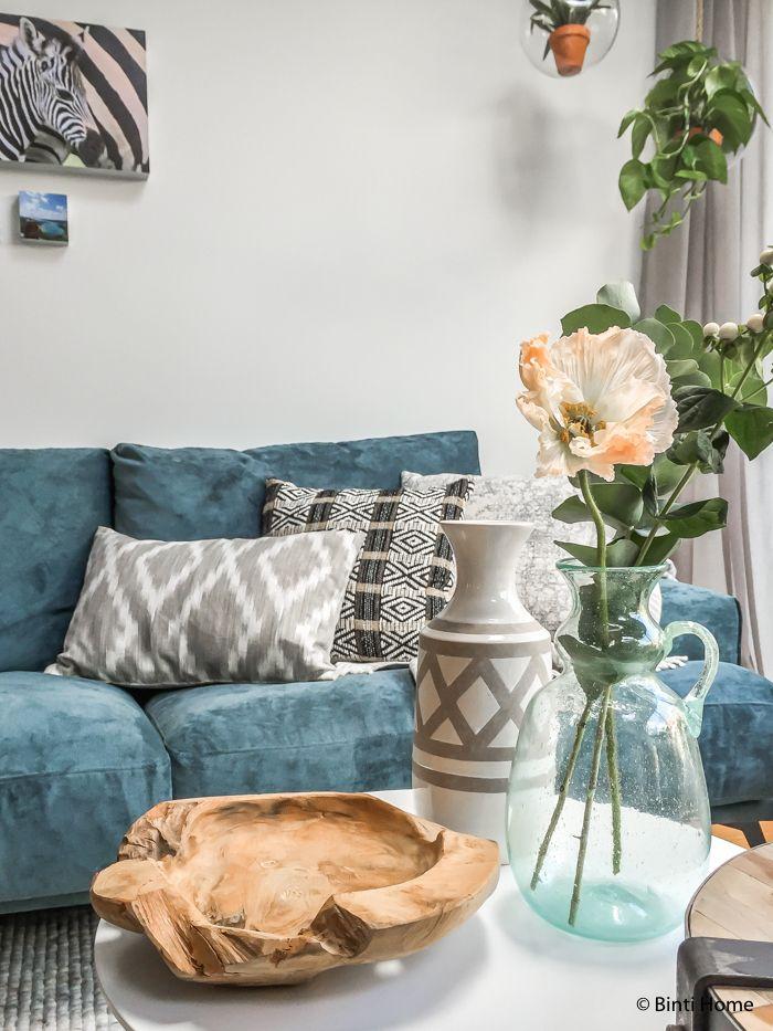 Interieurontwerp woonkamer Eigen Huis tuin ©BintiHome