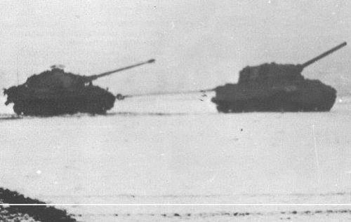Jagdtiger and Tiger II, 1945 | Panzertruppen | Flickr