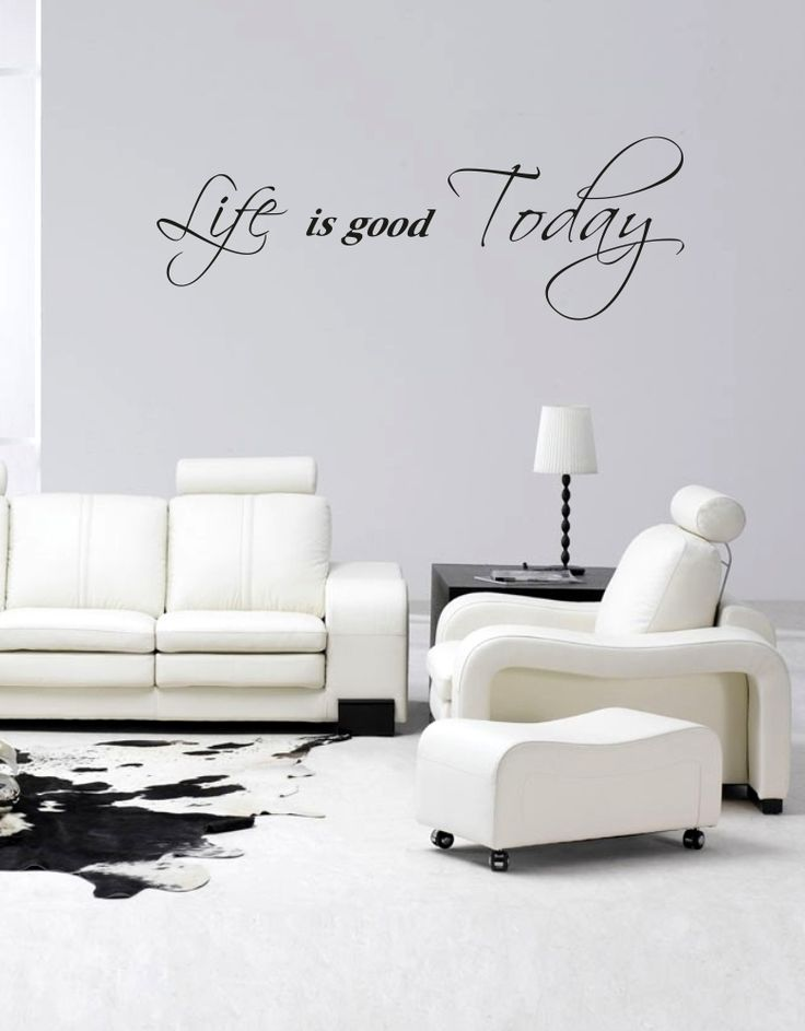 Samolepky na zeď - Life is good Today