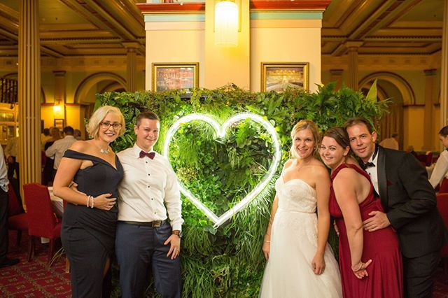 Love this pic of these beautiful creatures enjoying Jess & Danny's wedding at The Carrington in Katoomba. What a gorgeous historic setting for a wedding! We really enjoyed bringing a bit of greenery to this venue and being part of your awesome day 😘 🌿🌿🌿 ... @annikatelfer @kateowen1545