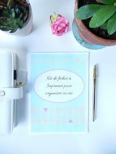 Kit de fiches organisation a imprimer spécial planner