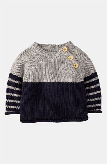 Free shipping and returns on Mini Boden 'Winter' Sweater (Infant) at Nordstrom.com. A merry graphic details a cable-knit sweater styled with a trio of buttons at the shoulder for easy on and off.