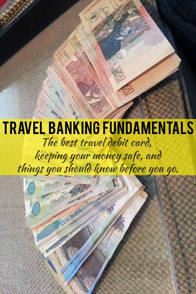 Here's how I manage my travel banking situation no matter where I am -- one thing you MUST do is get an ATM card with zero fees and which reimburses for any other bank fees anywhere in the world <-- this saves me hundreds of dollars in fees.