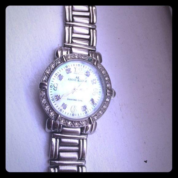 Anne Klein Silver Anne Klein watch used but in great condition cheaper threw another app Anne Klein Jewelry