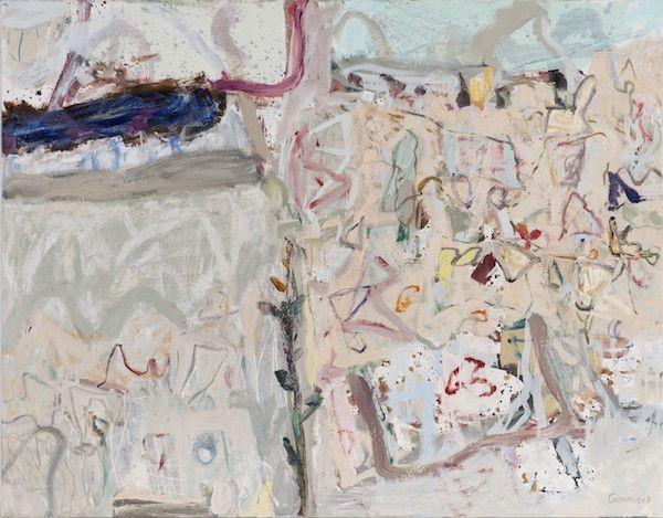 Cummings Elisabeth Stones and Wild Flowers oil on canvas