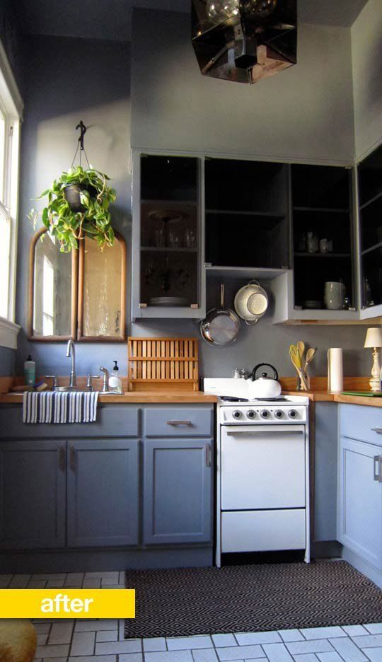 10 Before & After Kitchen Renovations For Under $7,000 (Some Way Under!)