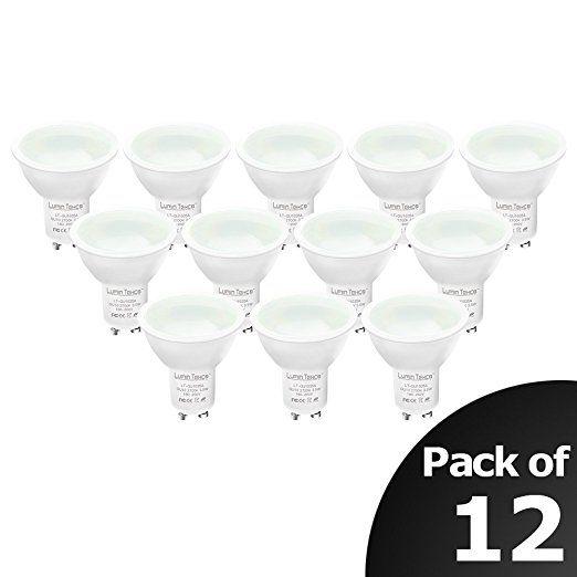 GU10 LED Lampe, ersetzt 40W Halogenlampen, Lumin Tekco Dimmbar LED Bulbs , warmweiß (2700 Kelvin), 280 Lumen, 12er Pack