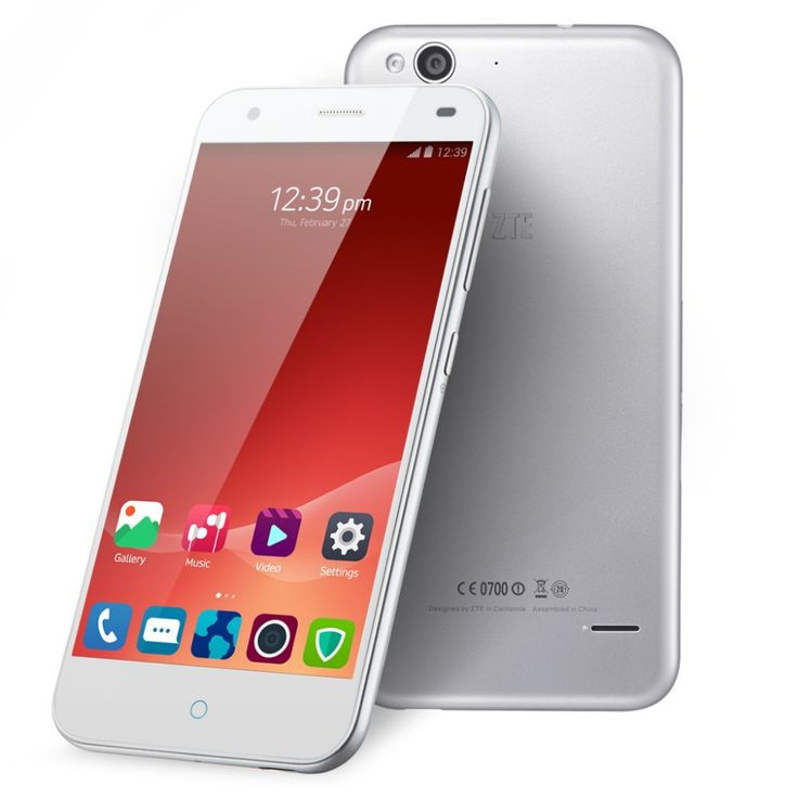 ZTE Blade S6 5 inch HD IPS 1280*720 Android 5.0 Octa-Core 1.5GHz Dual SIM LTE 4G Phone 2GB RAM 16GB ROM 13.0MP Camera