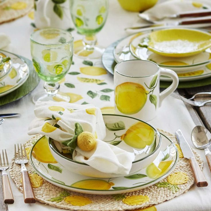 Lemon Kitchen Decor At Target: 17 Best Ideas About Dinnerware Sets On Pinterest