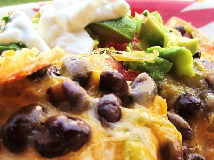 ... Bean & Cheese Nachos | Nachos | Pinterest | Super Nachos, Nachos