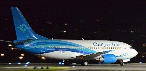 Our Airline B737-300 (Air Nauru) Gladstone Airport, Australia