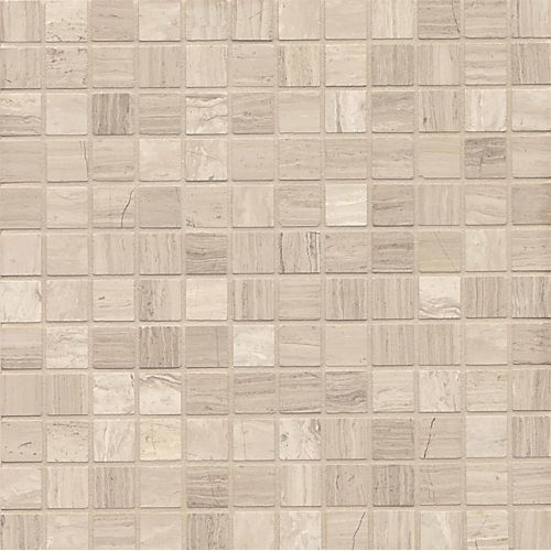 Ashen Grey 1 X 1 Floor Wall Mosaic Marble Mosaic Mosaic Tiles Marble Mosaic Tiles