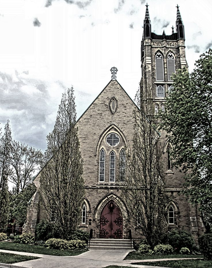Stratford Ontario ~ Canada ~ St. James' Anglican Church ~ Heritage ~ HDR Canada is a North American region extending…