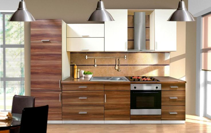 furniture kitchen brown varnished teak cabinet with white laminated doors contemporary kitchen cabinet designs 1