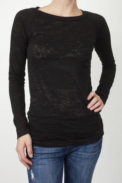 Black Long Sleeve Burnout www.shopmapel.com