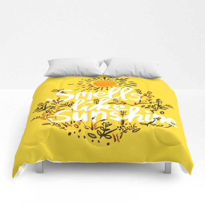 Buy Smells Like Sunshine Comforters By Terralogy Worldwide