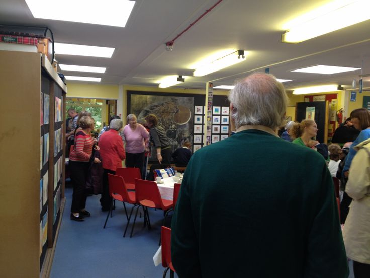 The Children hosted a 'Robert Stewart' Exhibition in Kilmodan School as part of a community tea-room