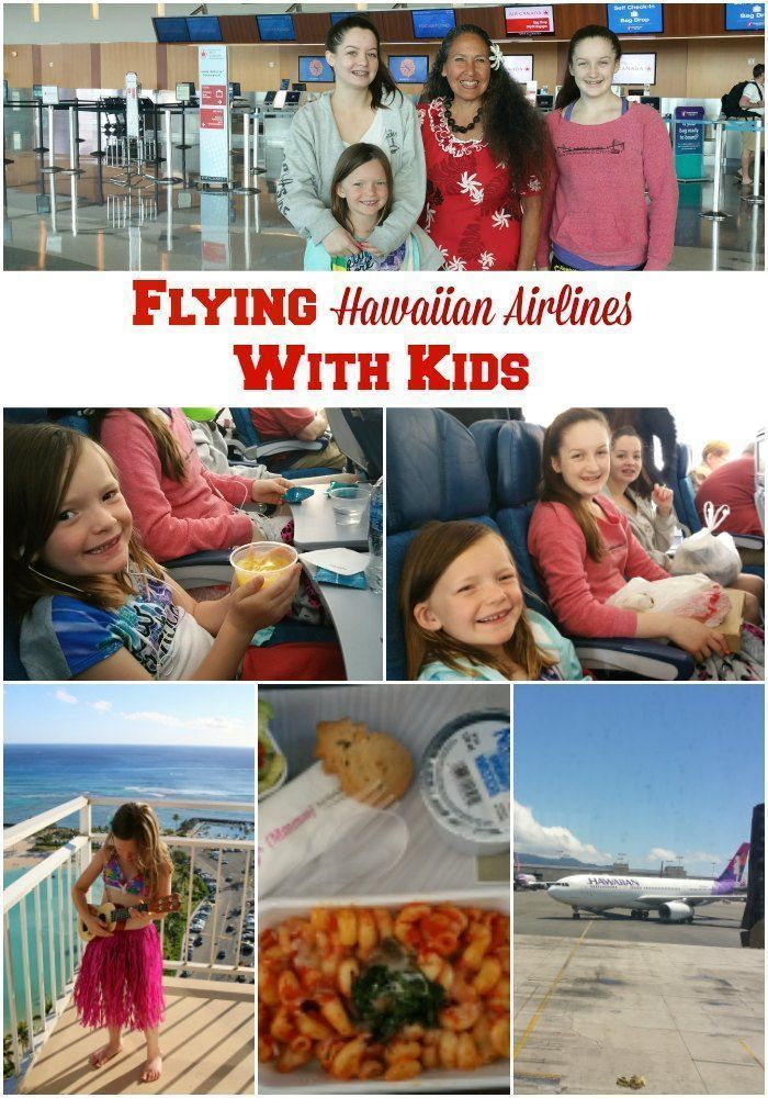 Flying Hawaiian Airlines With Kids