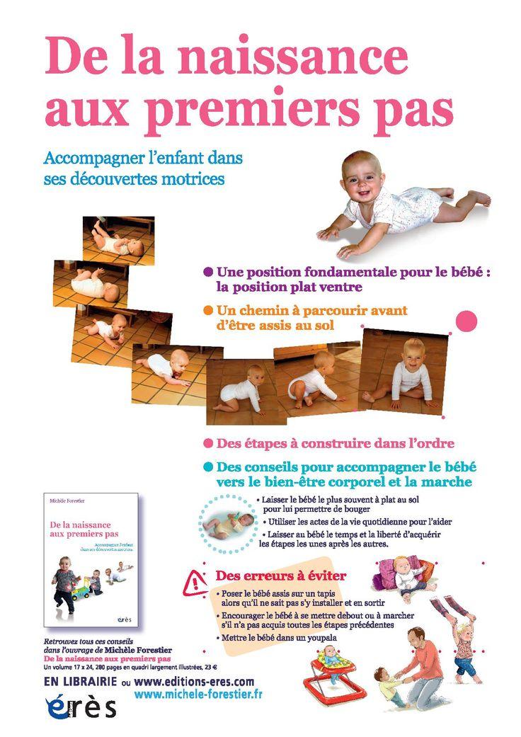 [Affiche] De la naissance aux premiers pas : Accompagner l'enfant dans ses découvertes motrices