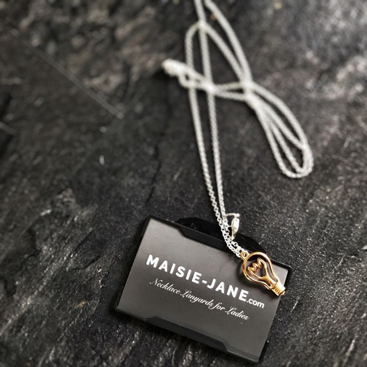 Urban Edison Necklace Lanyard by Maisie-Jane what a bright idea for a Teacher/ End of Term Gift!! Give a Gift she'll wear everyday!  All Necklace Lanyards have a safety release catch!