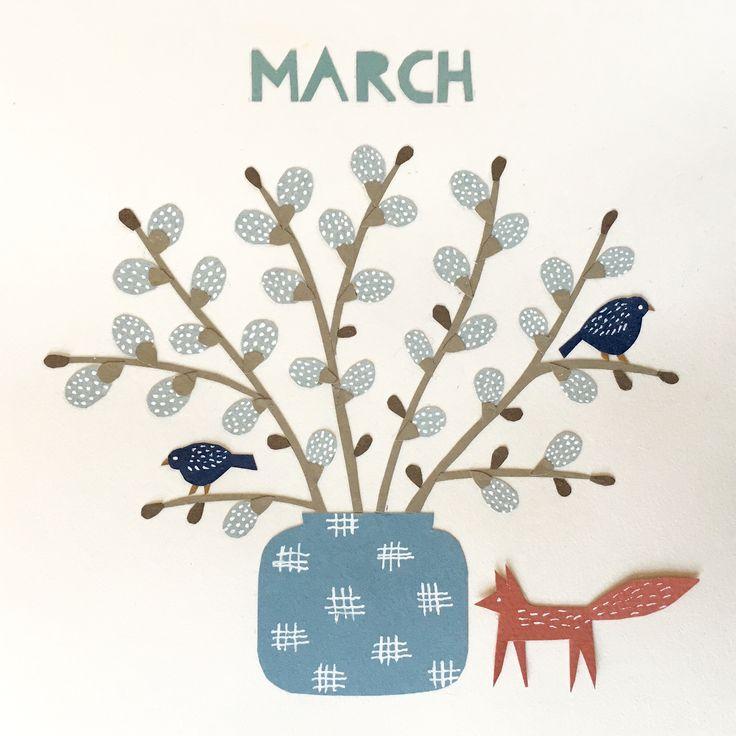Calendar picture, March 2