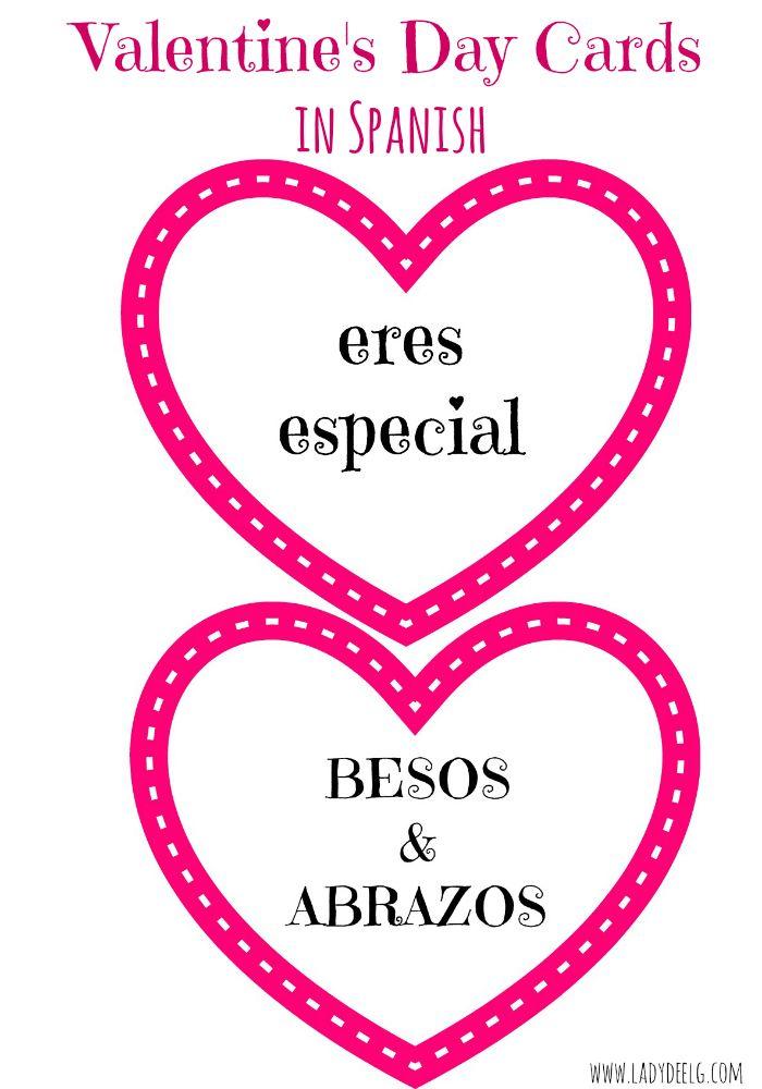 Valentine's Day Cards in Spanish
