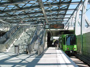Stadtbahn Hannover - Messe/Ost (EXPO-Plaza)