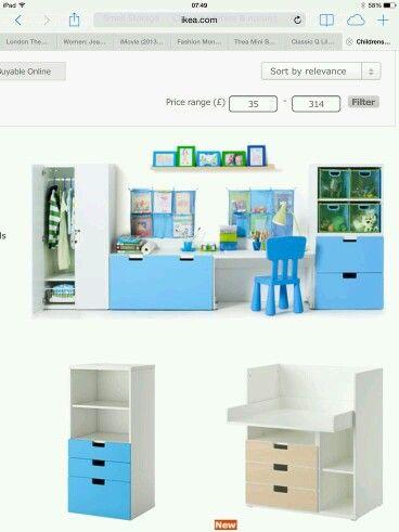 Ikea Stuva + Mammut + Kusiner + Lack