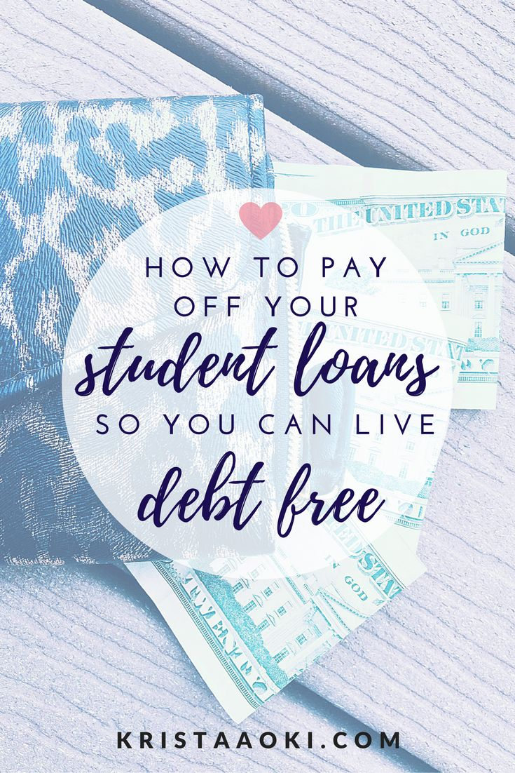 Student Loans 101 @ KristaAoki.com, a lifestyle & travel blog | learn three easy, effective steps towards paying off your student loans and becoming debt-free! what is refinancing? what is avalanche? what is snowball? should i refinance my student loans?