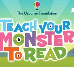 Teach your monster to read is a game to help your child with reading from the Usborne Foundation
