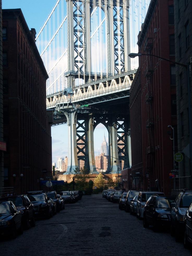 Manhattan bridge and Empire State Building 48