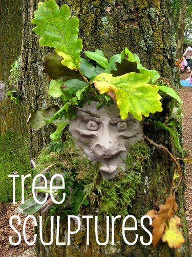 tree sculptures!!